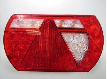 Achterlichtunit Smart LED 12v 5pin rechts   AWB Onderdelen