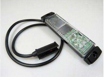 LED markeringslicht wit 12/24V | AWB Onderdelen