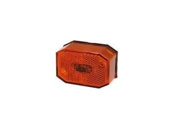 Zijmarkeringsglas Aspock Oranje | AWB Onderdelen