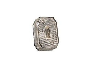 Breedtelichtglas Aspock Wit | AWB Onderdelen